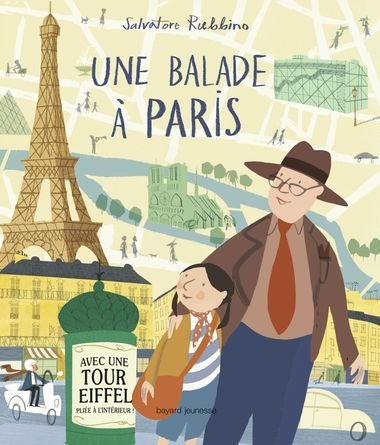 Couverture de «Une balade à Paris»