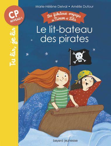 Couverture de «Le lit-bateau des pirates»