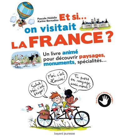 Couverture de « Et si on visitait la France ? »