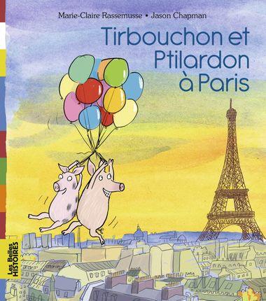 Couverture de «Tirbouchon et Ptilardon à Paris»