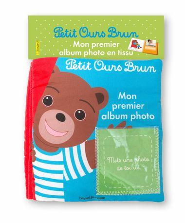 Couverture de «Mon album photo en tissu Petit Ours Brun»