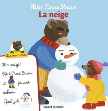 Couverture de «Petit Ours Brun, Lis avec moi – La neige»