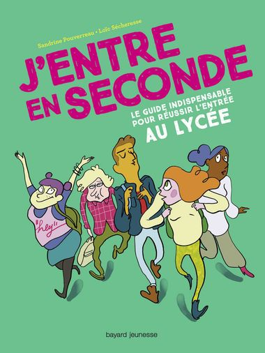 Couverture de « J'entre en seconde »
