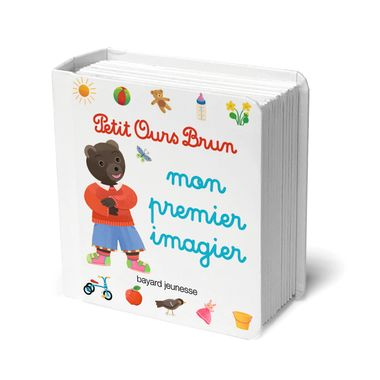 Couverture de «Mon premier imagier Petit Ours Brun»