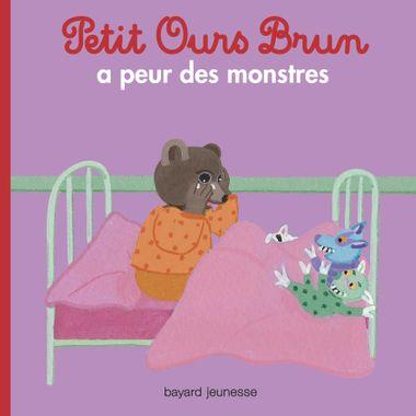 Couverture de «Petit Ours Brun a peur des monstres»
