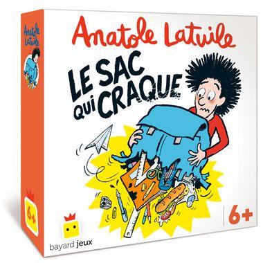 Couverture de «Jeu Anatole Latuile – Le sac qui craque»
