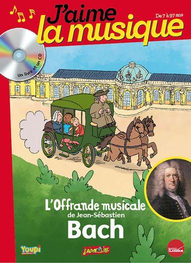 Couverture de «L'offrande musicale de Jean-Sébastien Bach»