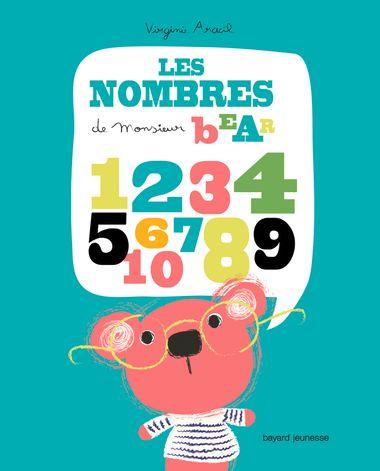 Couverture de «M. Bear Les nombres»