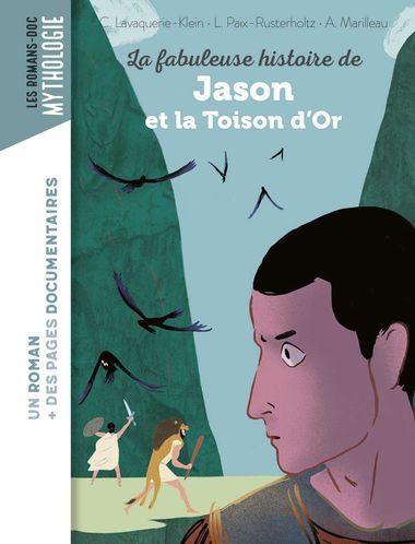Couverture de «La fabuleuse histoire de Jason et la Toison d'or»