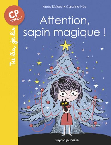 Couverture de « Attention, sapin magique ! »