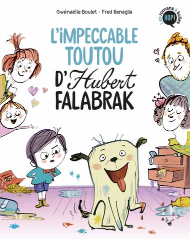 Couverture de « L'impeccable toutou d'Hubert Falabrak »