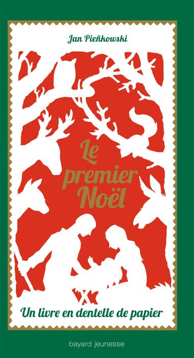 Couverture de «Le premier Noël – Un livre en dentelle de papier»