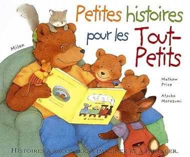 Couverture de «Petites histoires pour les tout-petits»