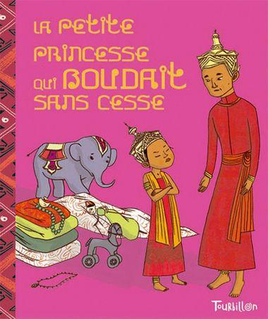 Couverture de «La petite princesse qui boudait sans cesse»