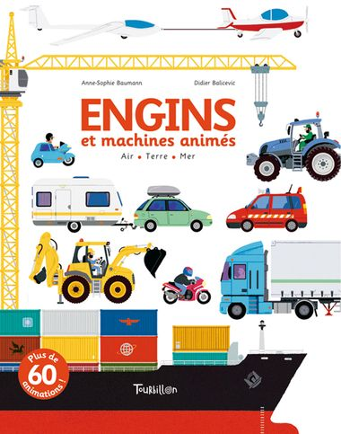 Couverture de « Engins et machines animés »