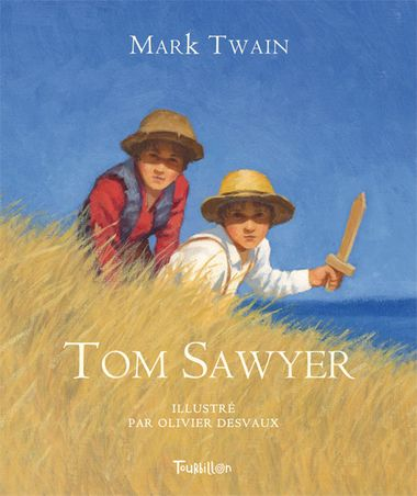 Couverture de « Tom Sawyer »