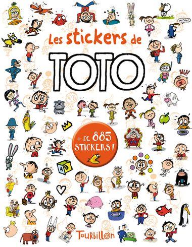 Couverture de «Les stickers de Toto»