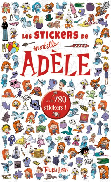 Couverture de « Stickers Mortelle Adèle »