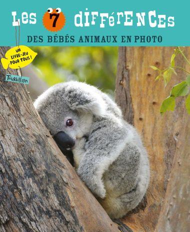 Couverture de «Les 7 différences des bébés animaux en photo»
