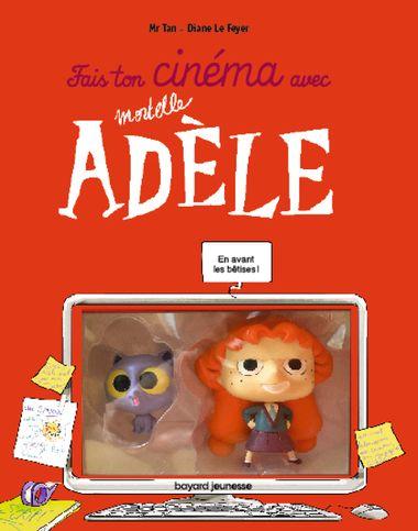 Couverture de «Fais ton cinéma avec Mortelle Adèle figurines»
