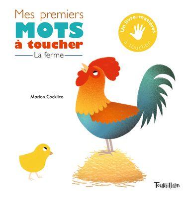 Couverture de «Mes premiers mots à toucher – Ferme»