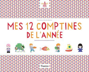 Couverture de «Chevalet Memo – Mes 12 comptines de l'année»