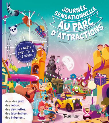 Couverture de «Journée sensationnelle au parc d'attractions»