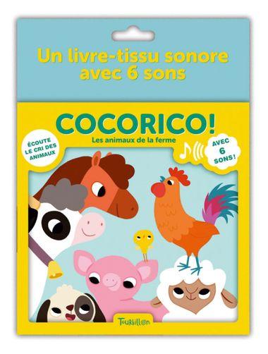 Couverture de «Cocorico ! – Les animaux de la ferme»