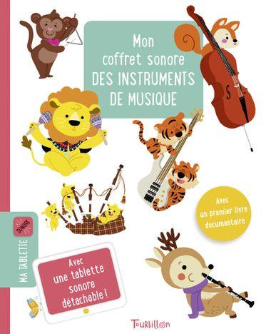 Couverture de «Mon coffret sonore des instruments de musique»