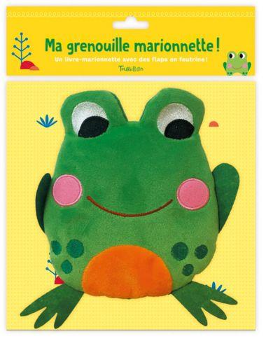 Couverture de «Ma grenouille marionnette»