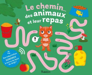 Couverture de «Le chemin… des animaux et leur repas»