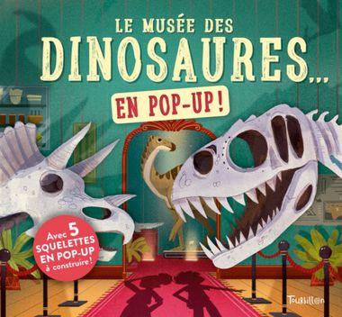Couverture de «Le musée des dinosaures… en pop up !»