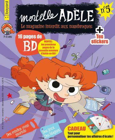 Couverture de «Magazine Mortelle Adèle n°5»