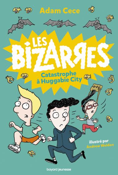 Couverture de « Catastrophe à Huggabie City »