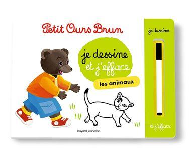 Couverture de «L'ardoise de Petit Ours Brun – Les animaux»