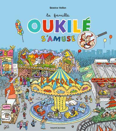Couverture de «La famille Oukilé s'amuse !»