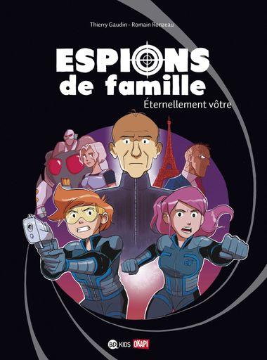 Couverture de «Espions de famille 7»