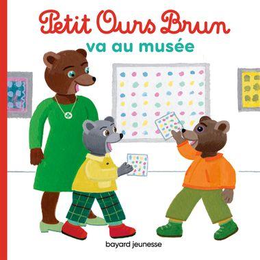 Couverture de «Petit Ours Brun va au musée»
