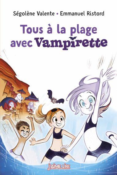 Couverture de «Tous à la plage avec Vampirette !»