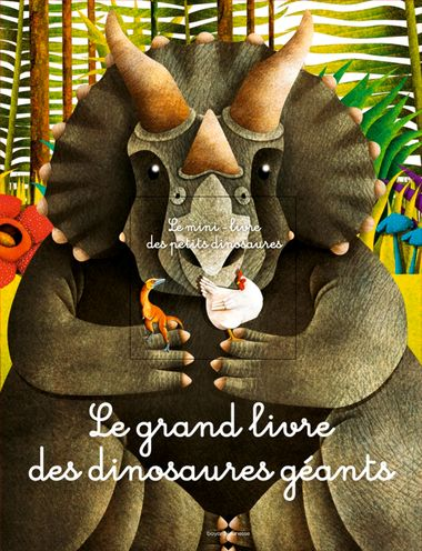 Couverture de «Le grand livre des dinosaures géants»