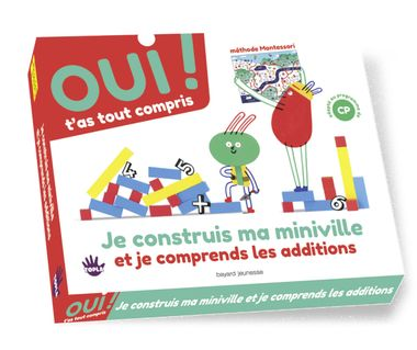Couverture de « Box 3 : je crée une mini-ville et je comprends les additions »