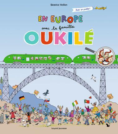 Couverture de «En Europe avec la famille Oukilé»