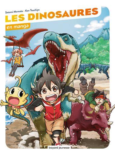 Couverture de «Les dinosaures en manga»