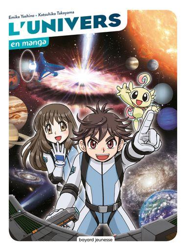 Couverture de «L'univers en manga»