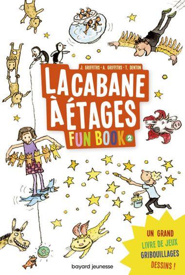 Couverture de «La cabane à étages le Fun Book 2»