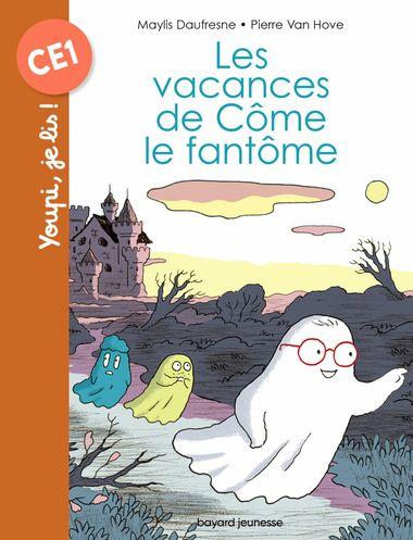 Couverture de «Les vacances de Côme le fantôme»