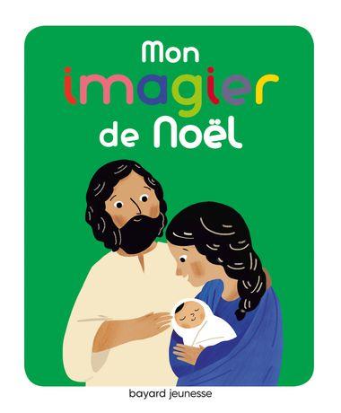 Couverture de «Mon imagier de Noël»