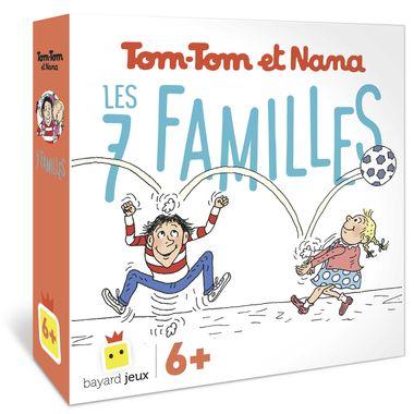 Couverture de «Jeu de 7 familles Tom-Tom et Nana – Blackrock»