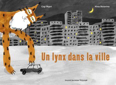Couverture de «Un lynx dans la ville»