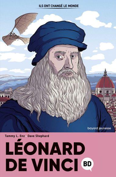 Couverture de «Leonard de Vinci en BD»